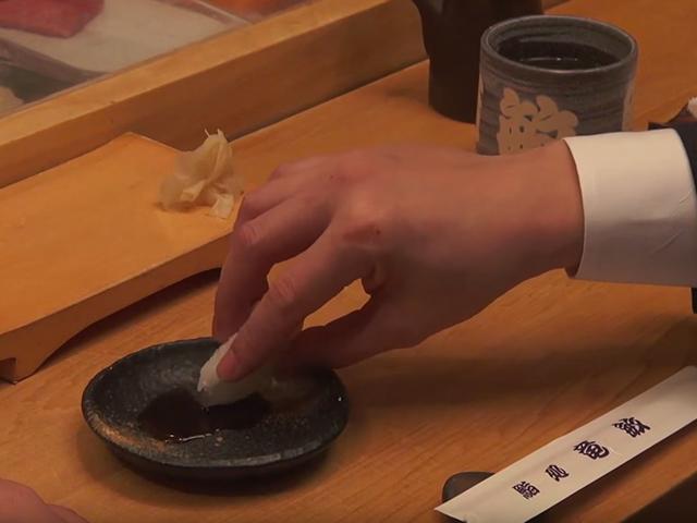 寿司的吃法