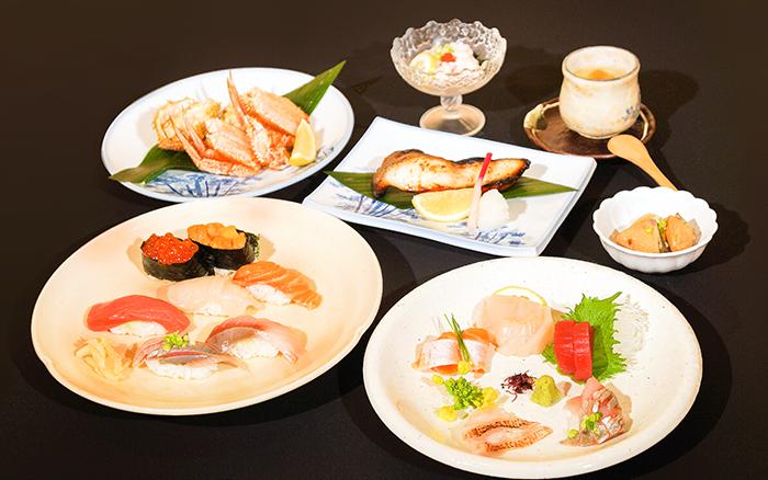 北海道の旬をまるごと味わえるお得なコースです。