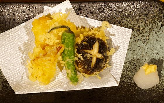 海鮮天婦羅(三点盛り)